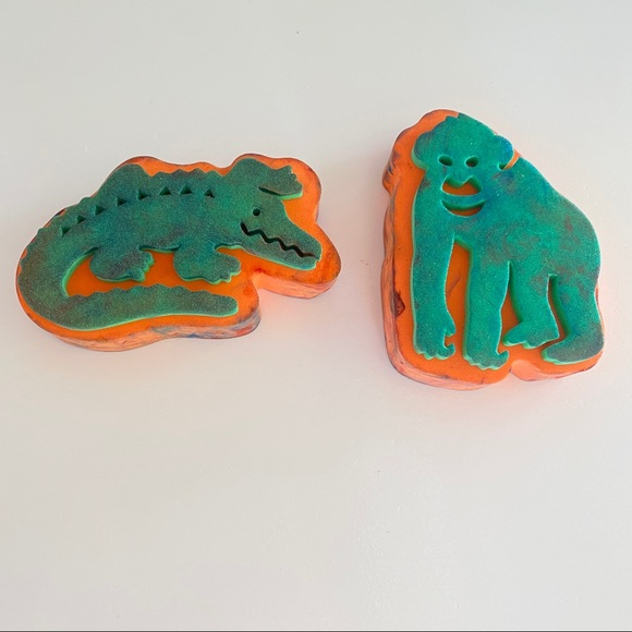 Animal foam stamps for kids